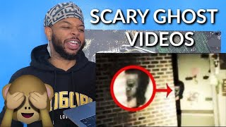 5 Scary Ghost Videos That Will SCARE YOU SILLY !   Reaction
