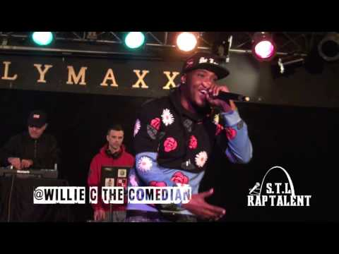 WILLIE C THE COMEDIAN (DISSIN THE DJ) Salute The Real Tour
