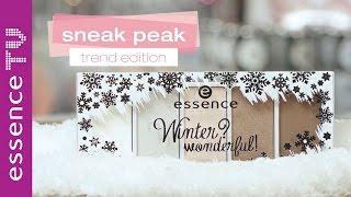 essence winter wonderful: trend edition sneak peak, make up look und swatches l essenceTV