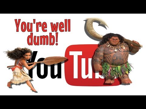 You're Well Dumb - Moana You're Welcome! Parody Song (Disney)