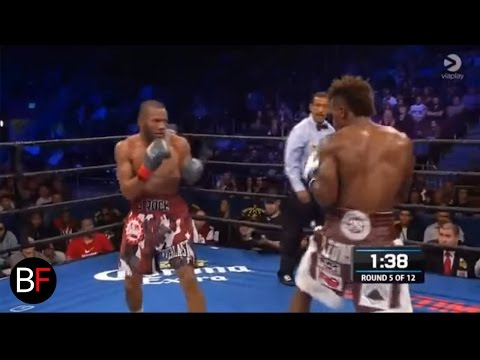 Jermall Charlo vs. Julian Williams knockout (Round 5)