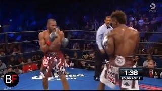 Jermall Charlo vs. Julian Williams knockout (Round 5)