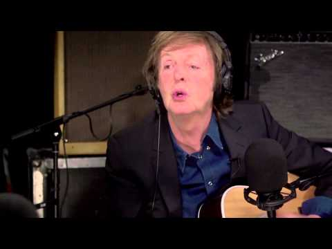 Paul McCartney performs 'Peggy Sue' and discusses musical arrangement tricks and sounds mp3