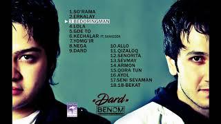 Benom - 'Dard' Audio To'plami | Беном - 'Дард' Аудио Альбоми
