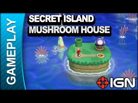 New Super Mario Bros U Secret Island
