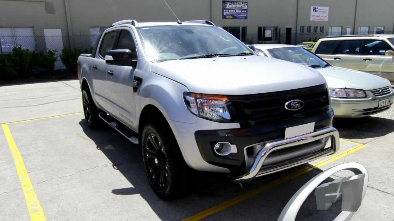 2012 Ford Ranger with custom rims 20 KMC Monsters  YouTube