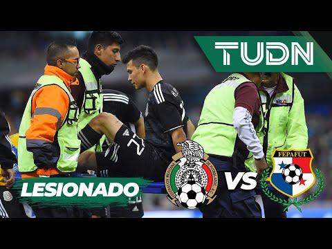 ¡Chucky Lozano lesionado! | México 1 - 1 Panamá | Liga de Naciones Concacaf 2019  Jornada 1 | TUDN