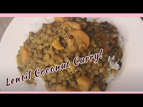 Delicious Lentil Coconut Curry | Angela Croes