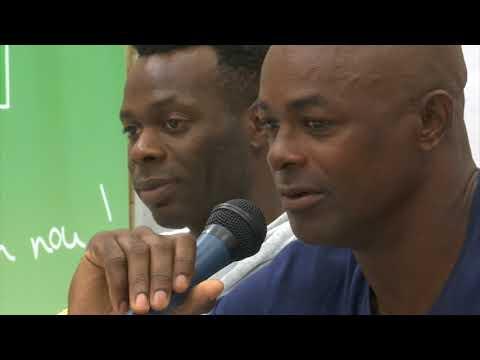 Reportage Canal 10 avant Guadeloupe - Trinidad-et-Tobago du 23.03.2018