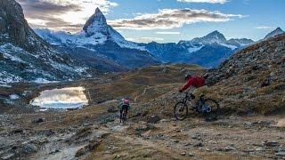 Trails That Drop Jaws Under Switzerland's Most Iconic Peak - Singletrack Switzerland Zermatt