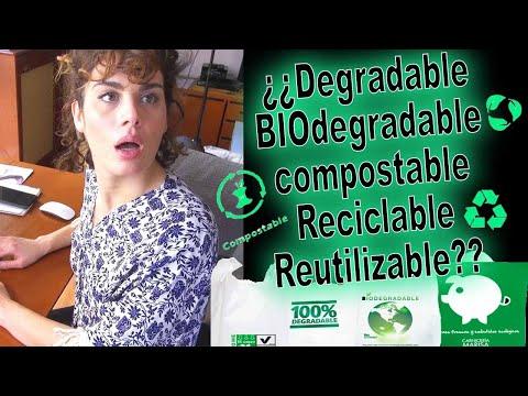 Degradable, BIO-degradable, Compostable, Reciclable, Reutilizable...
