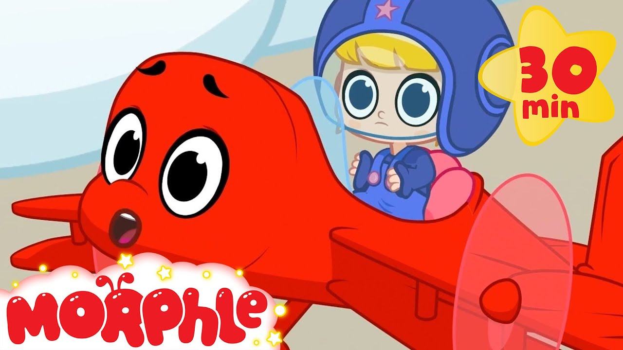 Picnic In The Clouds - My Magic Pet Morphle | Cartoons For Kids | Morphle TV