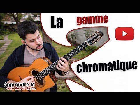 La gamme chromatique - Apprendre le jazz manouche