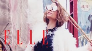 Photo Shoot with Nicole Richie | ELLE Behind The Scenes