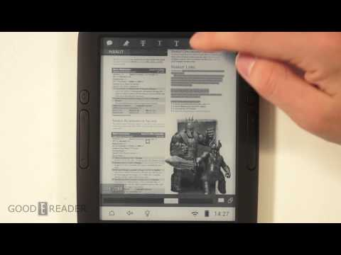 Reading PDF Files on an Android e-reader