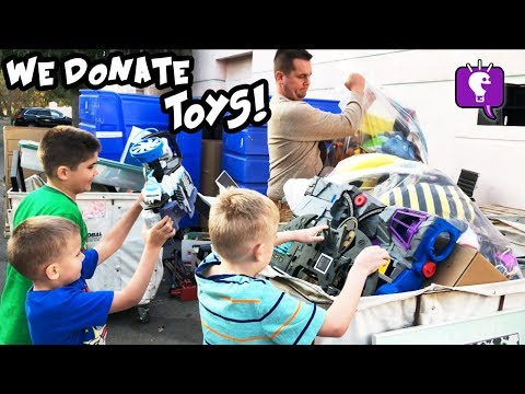 HobbyKids DONATE TOYS! 😀 What Are Your Favorite Charities?
