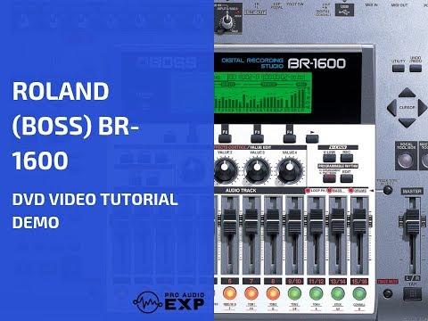 Roland (Boss) BR-1600 DVD Video Tutorial Demo Review Help