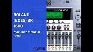 رولان (مدرب) BR-1600 فيديو دي في دي تعليمي تجريبي استعراض المساعدة