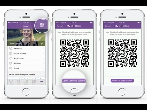 Como usar o QR Code e e código de barras no Viber e Snapchat Snapcode