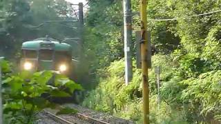 [警笛あり]JR西日本 113系4+4両編成 草津線 三雲駅付近通過