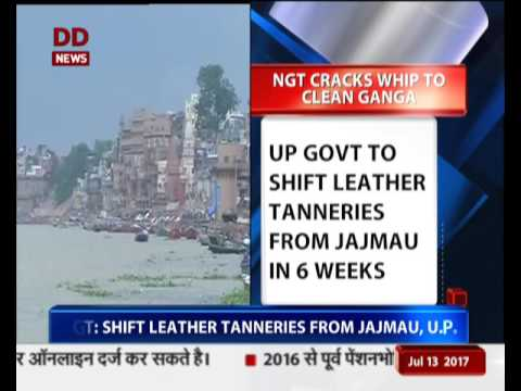 NGT issues strict order to clean River Ganga