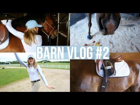 Barn Vlog #2   Equestrian Prep