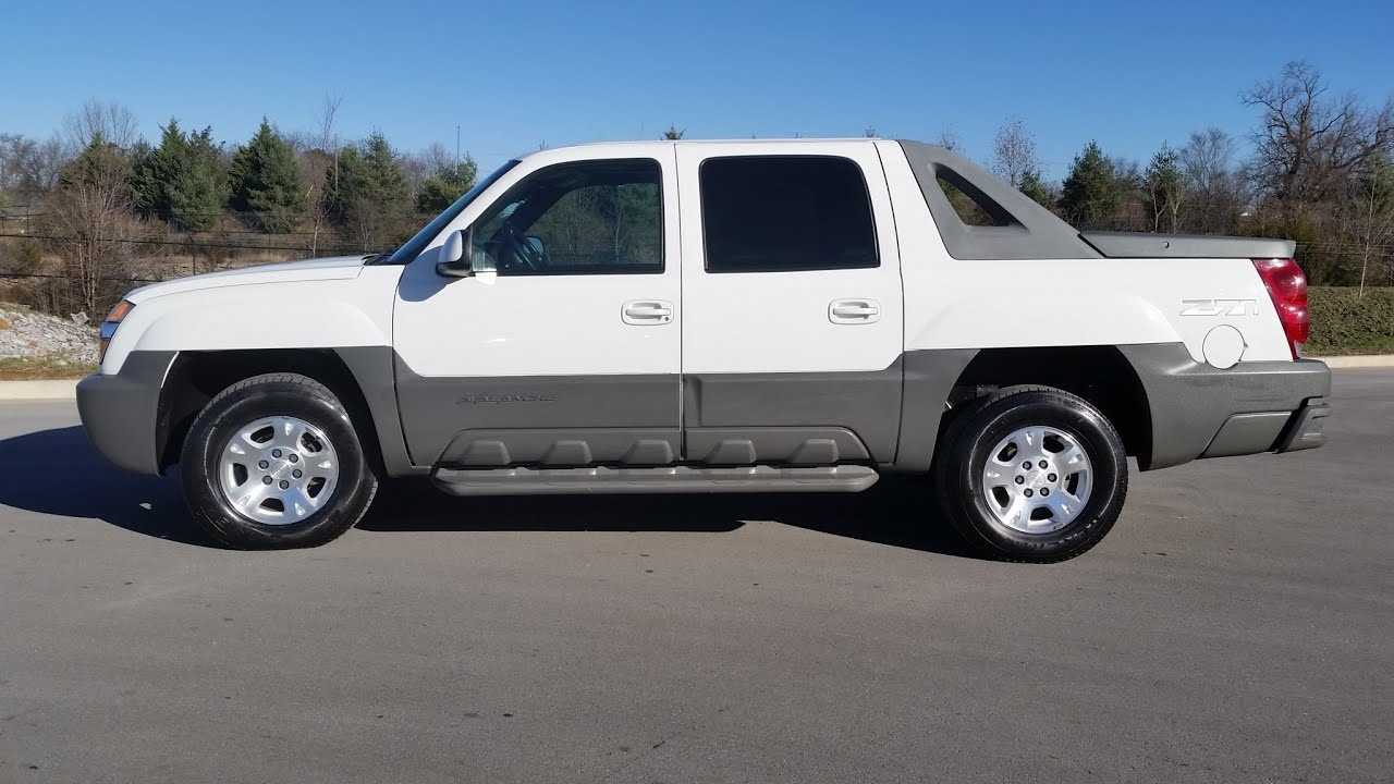 Sold2002 chevrolet avalanche 4x4 z71 1 owner 172k summit white sold2002 chevrolet avalanche 4x4 z71 1 owner 172k summit white for sale 855 507 8520 youtube sciox Image collections