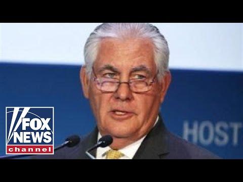 Tillerson sparks media shakeup frenzy