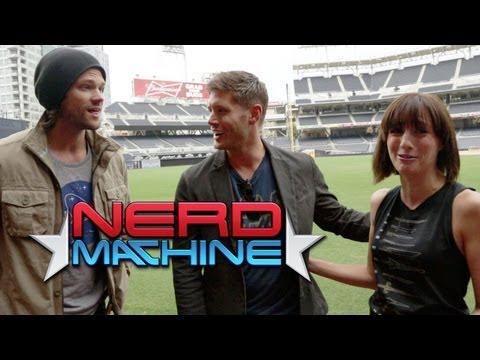 Jared Padalecki, Jensen Ackles - Exclusive Interview - Nerd HQ (2013) HD - Alison Haislip