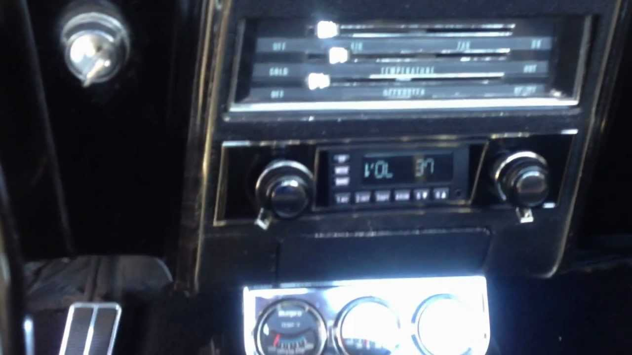 1967 CHEVROLET CAMARO RETROSOUND RADIO INSTALL  YouTube