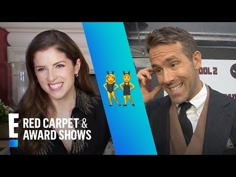 Blake Lively Says Anna Kendrick Is the Female Ryan Reynolds  E! Live from the Red Carpet