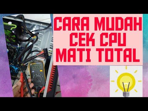 CARA MEMPERBAIKI CPU KOMPUTER MATI TOTAL || CARA MEMPERBAIKI POWER SUPPLY KOMPUTER MATI
