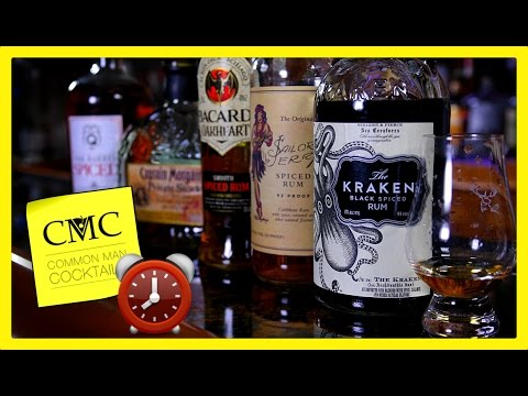 ⏰ 5 Spiced Rum Reviews In 5 Minutes: Kraken, Private Stock, Sailor Jerry, Oakheart, Don Q