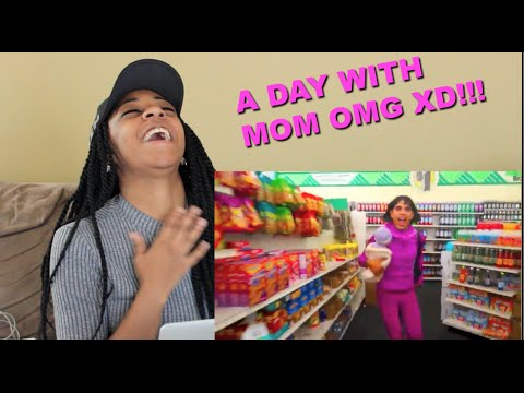 "Couple Reacts : Brandon Rogers ""A Day With Mom"" LOL"