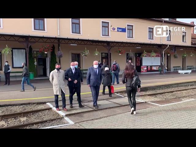 Példátlan vasúti járatbővítés Eger és Budapest között