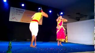 Faguni purnima rate dance performance by Aalif