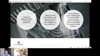 How to license Oracle Software when deployed in VMware