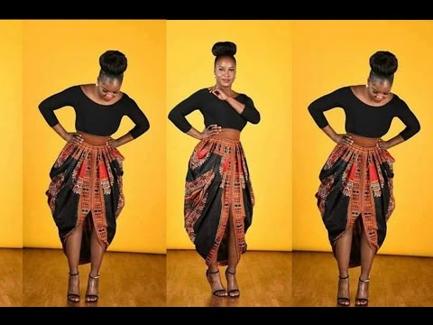 Part 2 Cowl skirt•Slow Tutorial•DIY Ankara Skirt•One Yard Skirt•Including Sewing Packages•