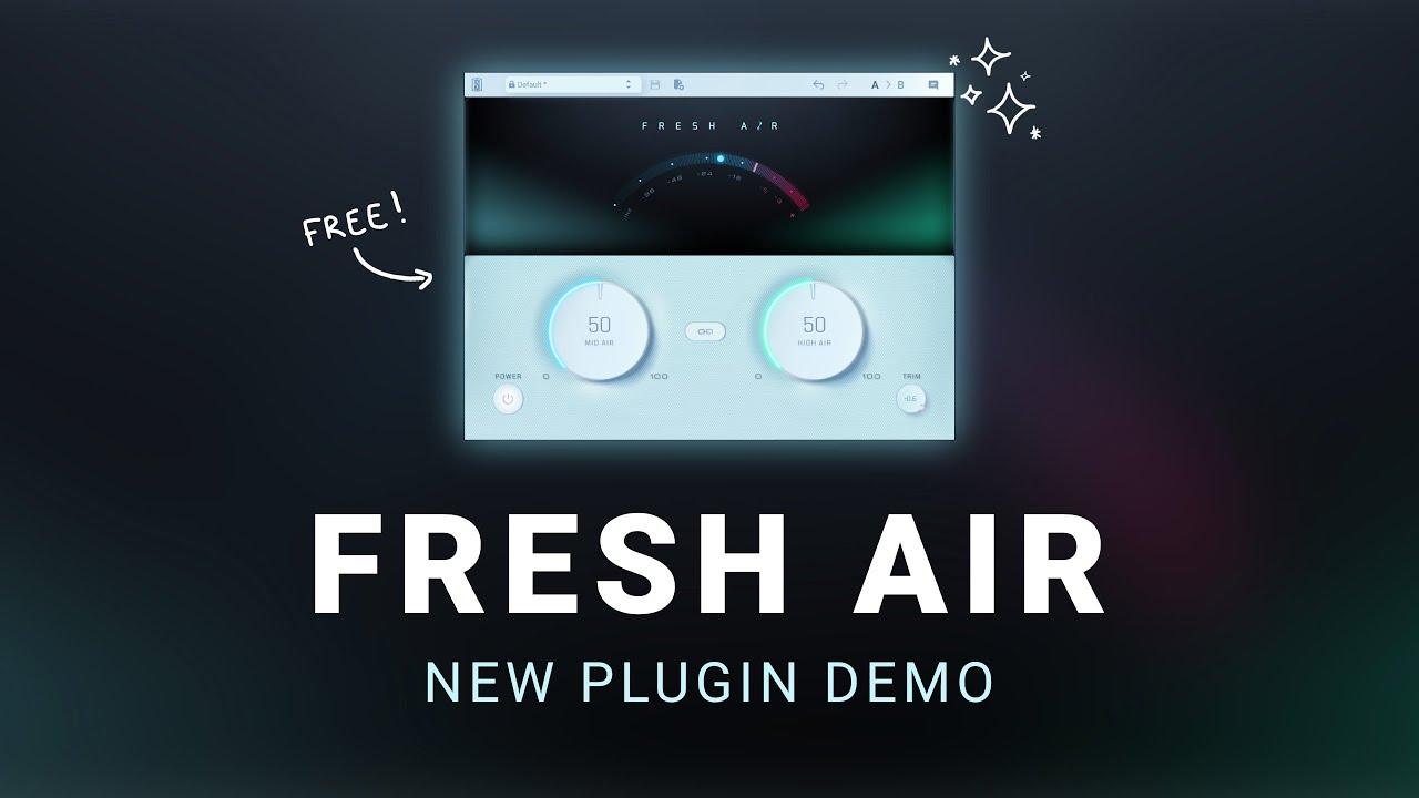Free Plugin for Mix Clarity - Fresh Air Sound Demo