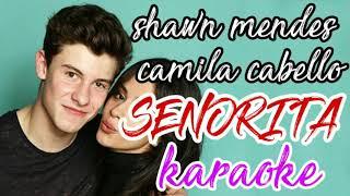 Shawn Mendes Camila Cabello - Senorita Karaoke