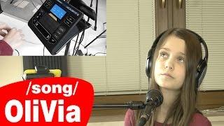 Ed Sheeran - Wayfaring Stranger / Cover by OliVia Tomczak - age 10 / Live looping