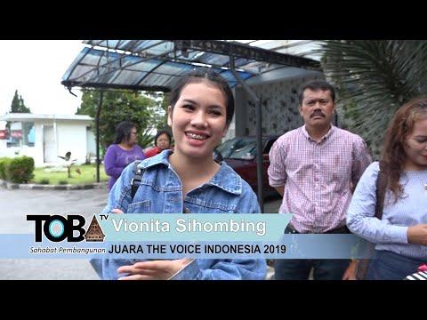TITI DJ DAN VIONITA THE VOICE INDONESIA 2019 KONSER DI BALIGE, TOBASA.