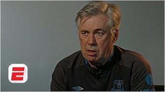 Carlo Ancelotti on adapting to life at Everton | Premier League