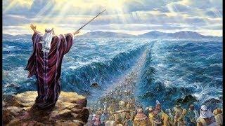 Исход Израильтян из Египта.  Подвиг Моисея с математической точки зрения.