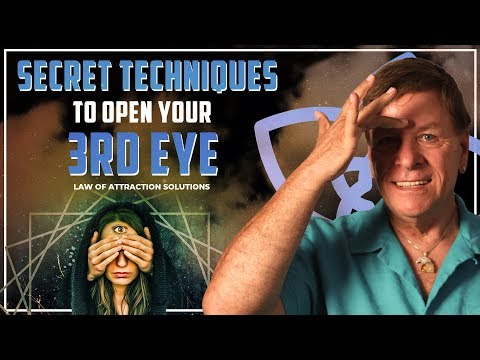 Secret Techniques to Open Your Third Eye with the Law of Attraction