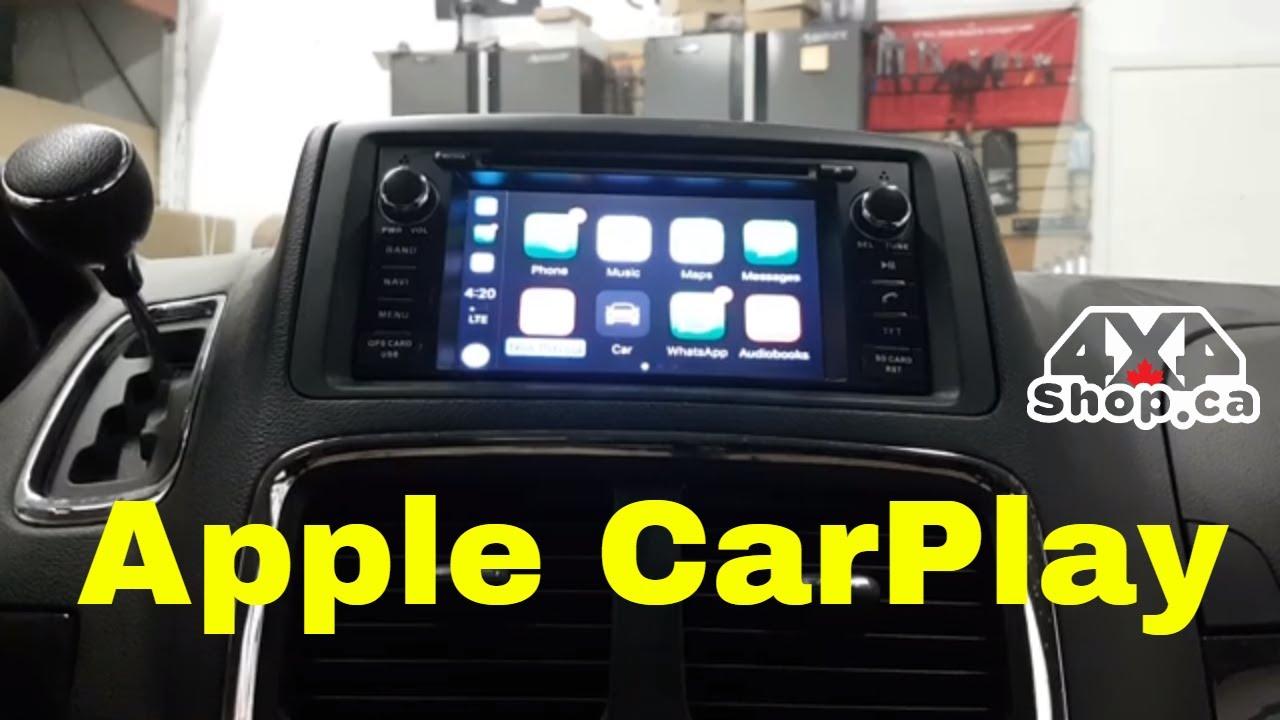 dodge grand caravan apple carplay Adding Apple Carplay Android Auto To Dodge Grand Caravan Jeep Wrangler