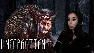 Страшные сказки - визуальная новелла Unforgotten