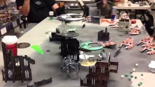 Mech Eldar vs Necron Wraiths - 1850 Part One