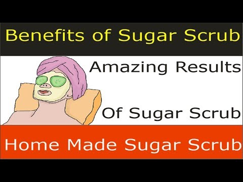 Sugar Scrub Benefits For Face , Lips , Hands And For Pimples And How You Can Make Sugar Scrub