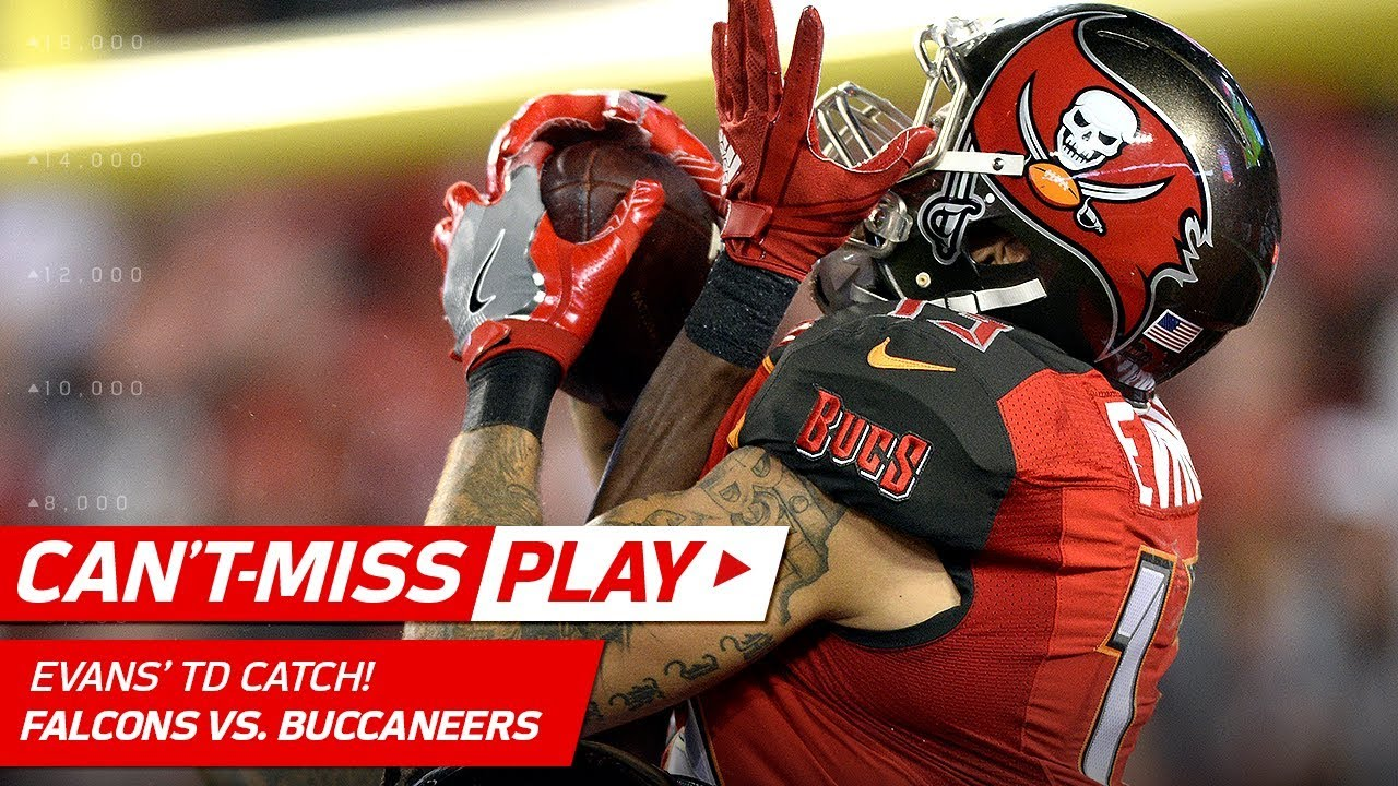 Mike Evans Soars on this Spectacular TD Catch vs. Atlanta ...
